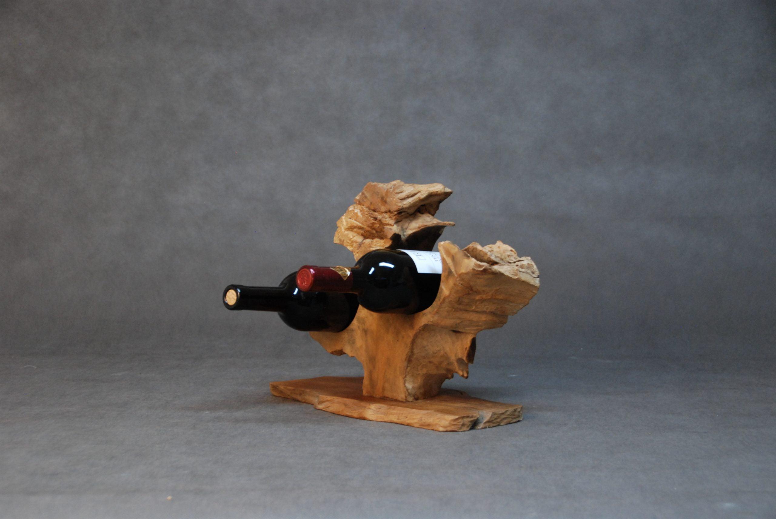 Weinregale aus Massivholz